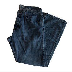 Wrangler Relaxed Boot Dark Wash Jeans Size 33x30